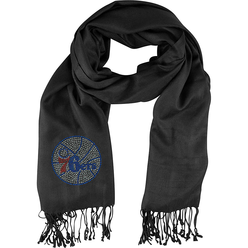 Littlearth Pashi Fan Scarf - NBA Teams Philadelphia 76ers - Littlearth Hats/Gloves/Scarves - Fashion Accessories, Hats/Gloves/Scarves