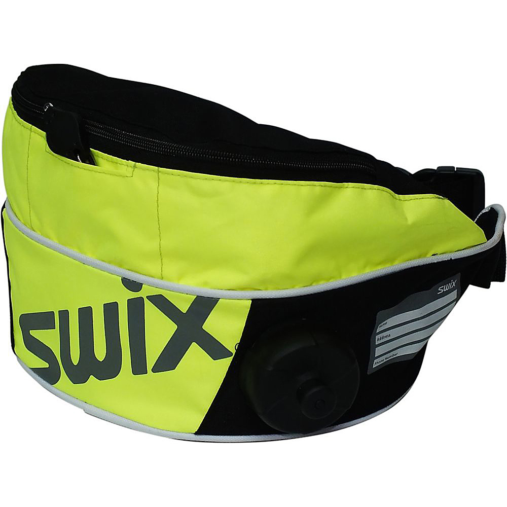 Swix High Viz Drinkbelt Reflective Yellow Swix Hydration Packs and Bottles