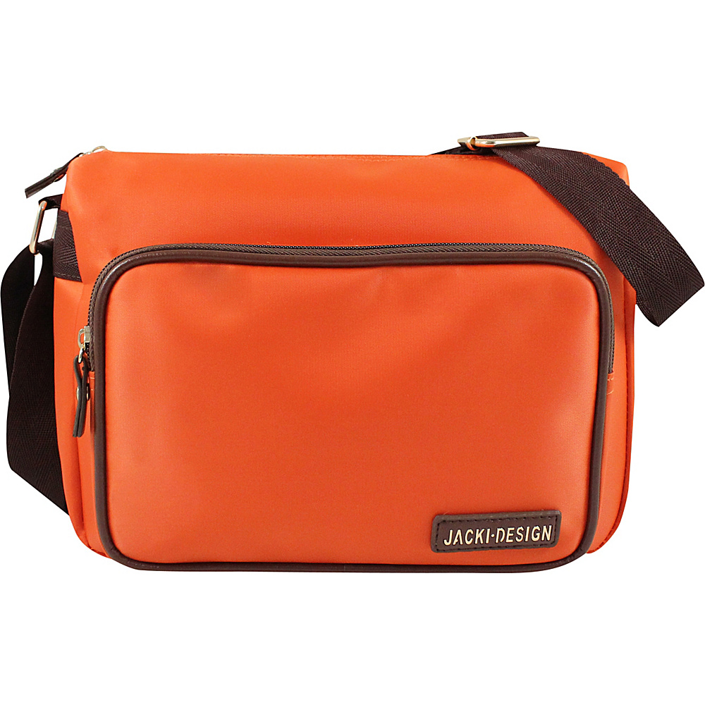 Jacki Design Essential Messenger Bag Orange Jacki Design Fabric Handbags