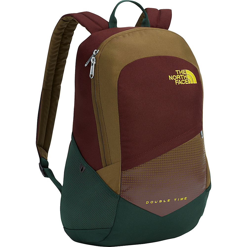 The North Face Double Time Backpack Darkest Spruce - The North Face Everyday Backpacks - Backpacks, Everyday Backpacks
