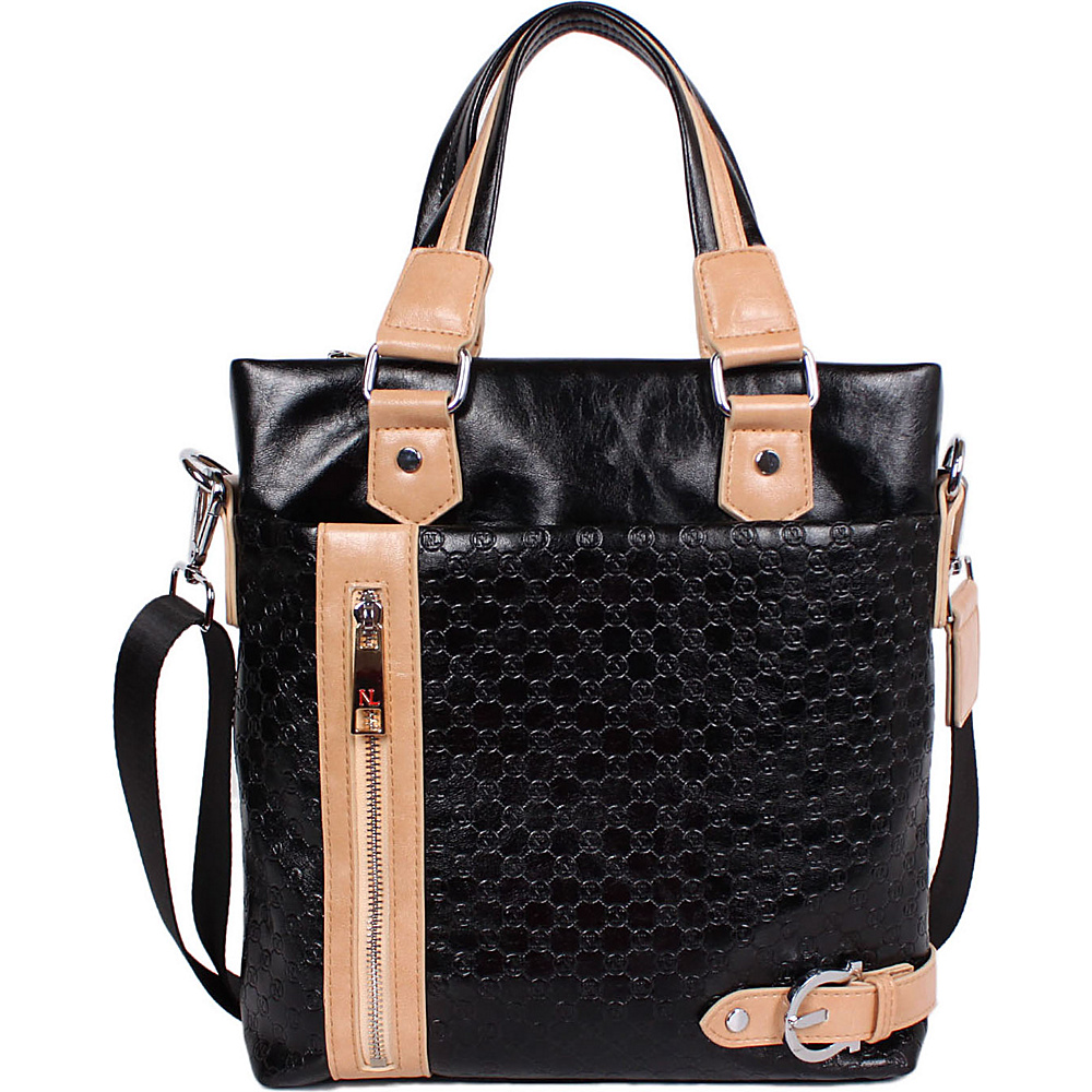 Nicole Lee Ethan Tote Bag Black - Nicole Lee Men's Bags