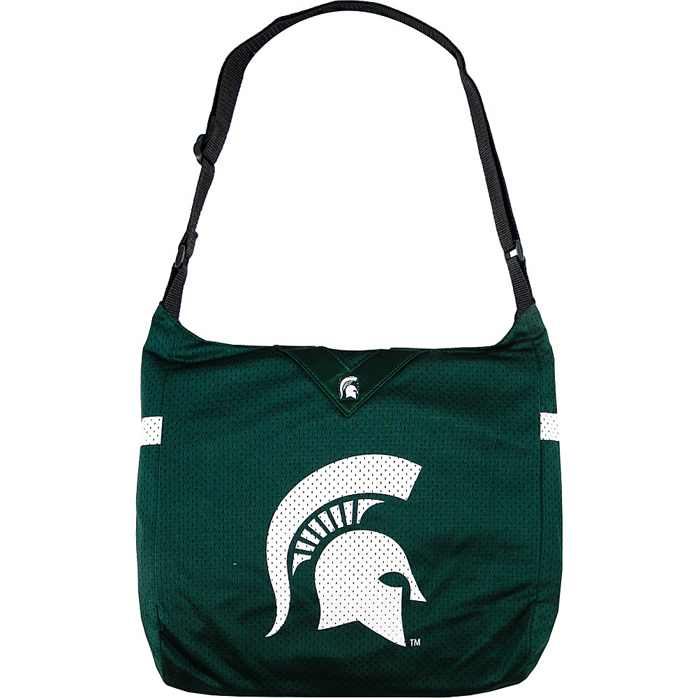 Littlearth Team Jersey Shoulder Bag - Big 10 Teams Michigan State University - Littlearth Fabric Handbags - Handbags, Fabric Handbags