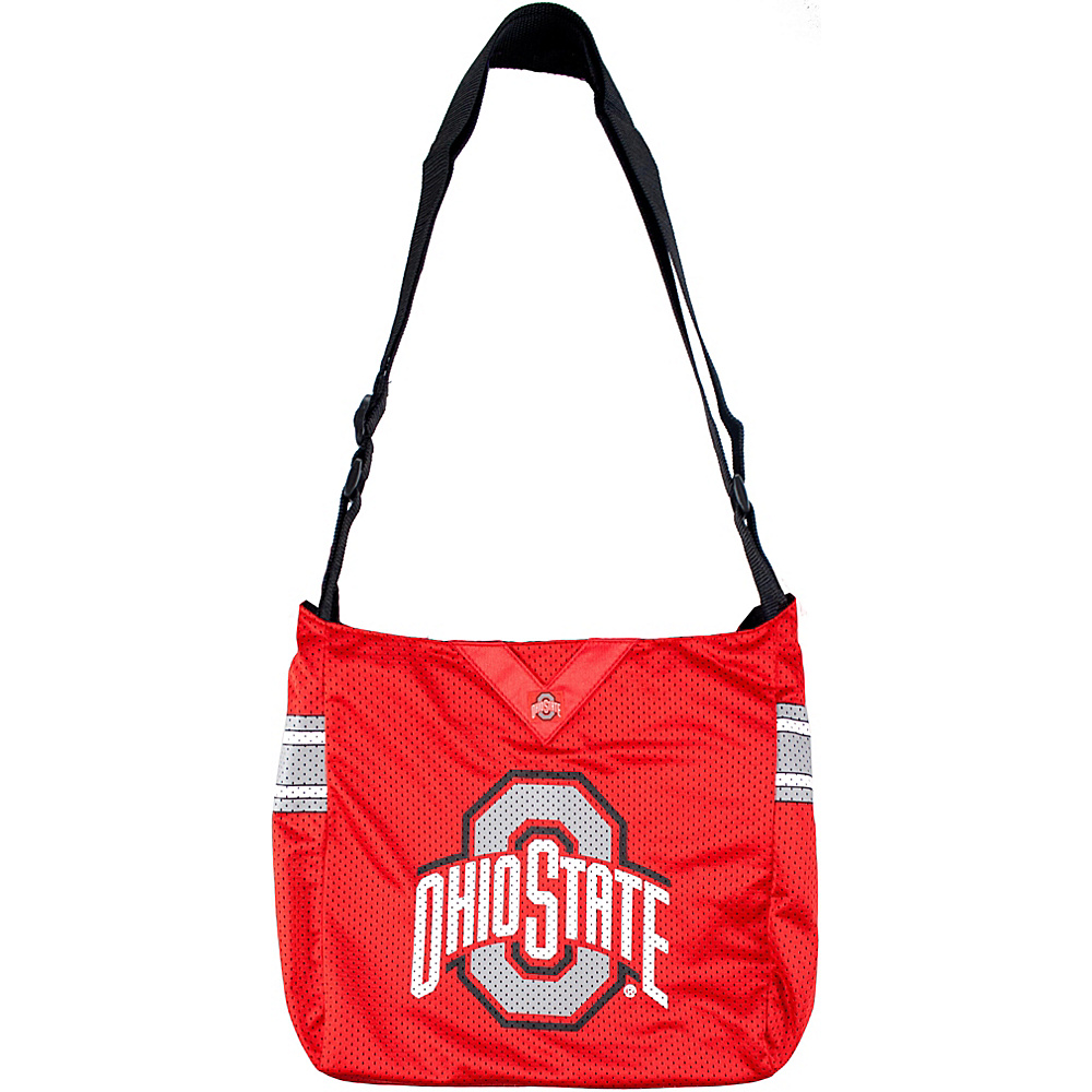 Littlearth Team Jersey Shoulder Bag - Big 10 Teams Ohio State University - Littlearth Fabric Handbags - Handbags, Fabric Handbags