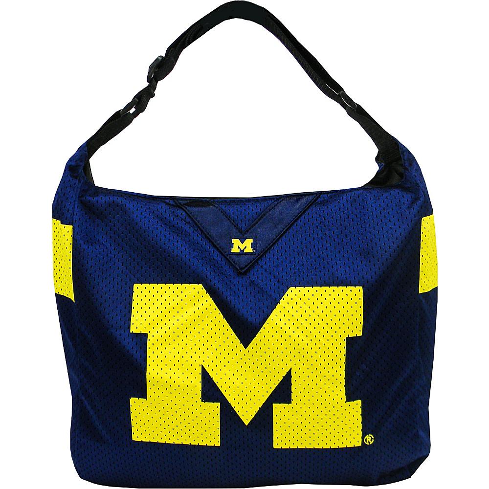 Littlearth Team Jersey Shoulder Bag - Big 10 Teams Michigan, U of - Littlearth Fabric Handbags - Handbags, Fabric Handbags