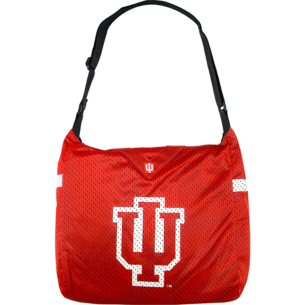 Littlearth Team Jersey Shoulder Bag - Big 10 Teams University of Indiana - Littlearth Fabric Handbags - Handbags, Fabric Handbags