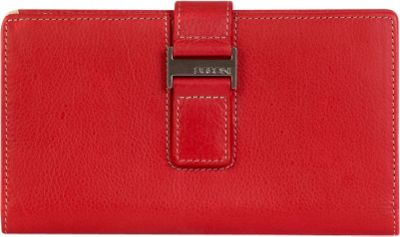 Boconi Kylie RFID Checkbook Clutch Berry with Blonde - Boconi Women's Wallets