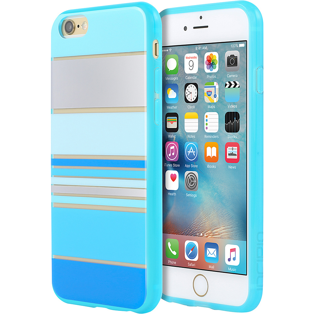 Incipio Design Series for iPhone 6/6s Hensley Stripes Blue - Incipio Electronic Cases - Technology, Electronic Cases
