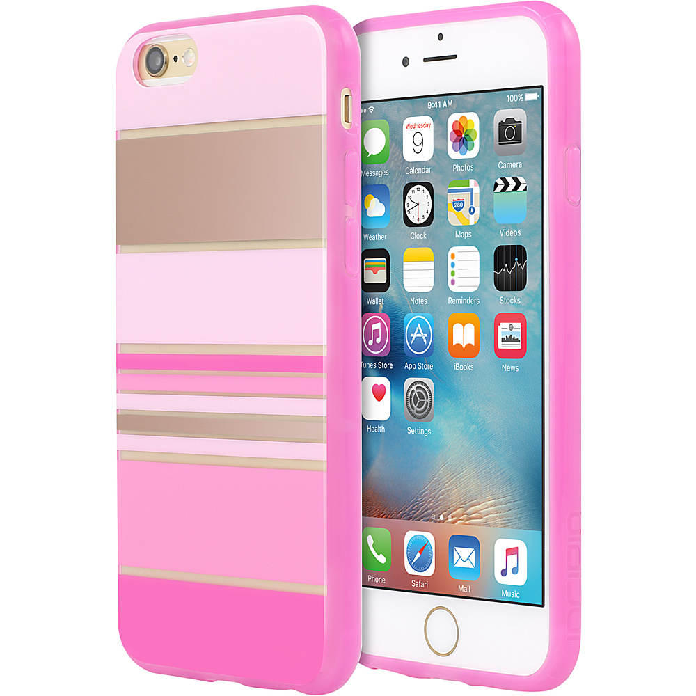 Incipio Design Series for iPhone 6/6s Hensley Stripes Pink - Incipio Electronic Cases - Technology, Electronic Cases