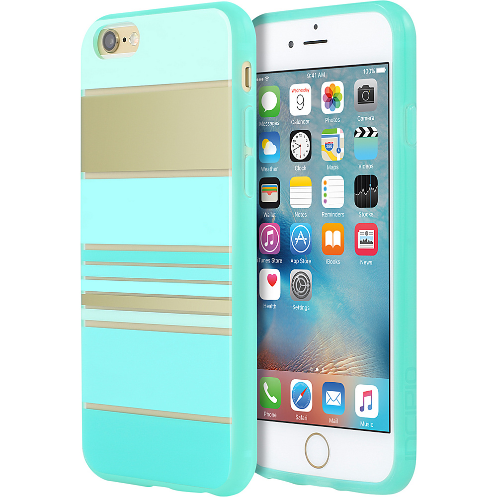 Incipio Design Series for iPhone 6/6s Hensley Stripes Teal - Incipio Electronic Cases - Technology, Electronic Cases