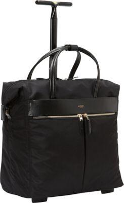 KNOMO London Sedley Rolling Laptop Bag Black - KNOMO London Wheeled Business Cases