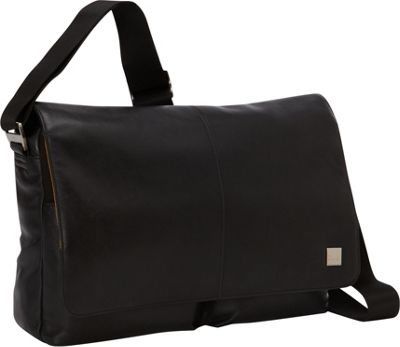 KNOMO London Kobe Messenger Black - KNOMO London Messenger Bags