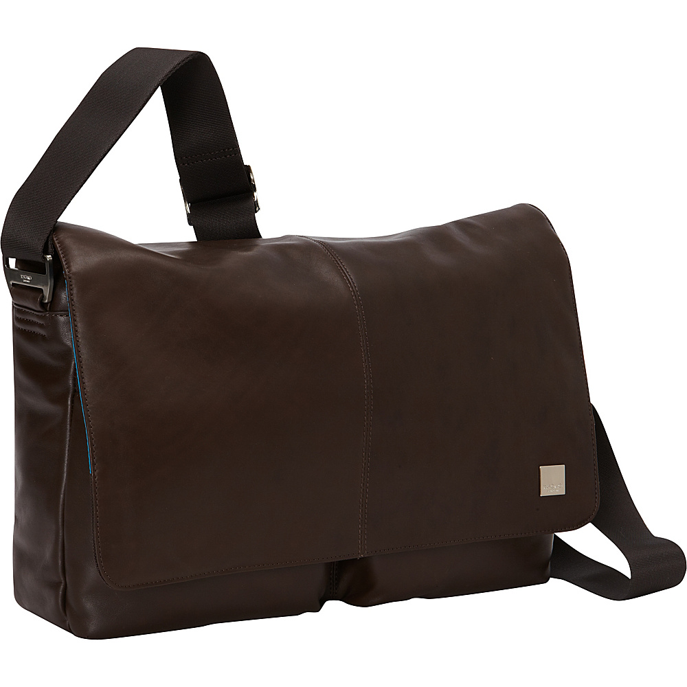 KNOMO London Kobe Messenger Brown KNOMO London Messenger Bags