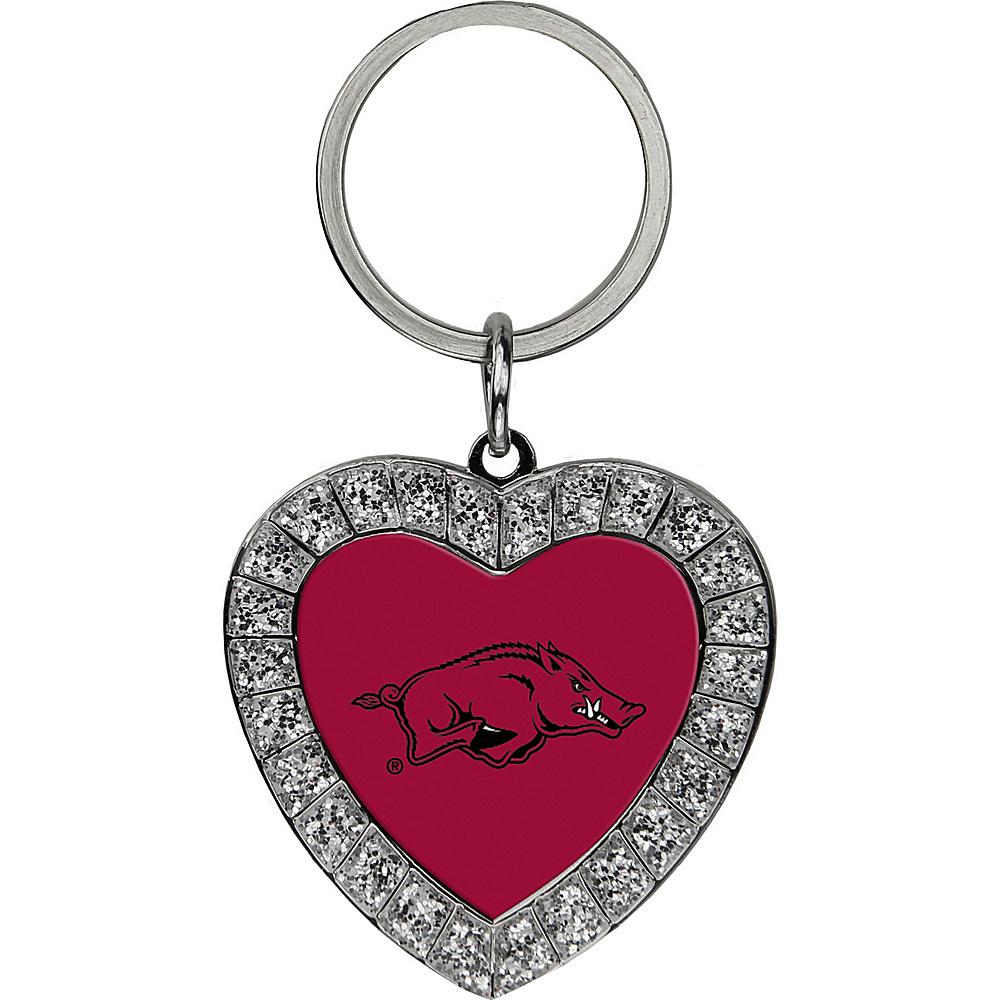 Luggage Spotters NCAA Arkansas Razorbacks Rhinestone Key Chain Burgundy - Luggage Spotters Ladies Key/Card/Coins Cases