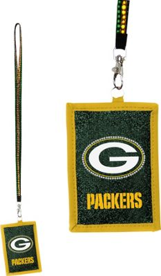 Luggage Spotters NFL Green Bay Packers Lanyard Yellow - Luggage Spotters Travel Wallets