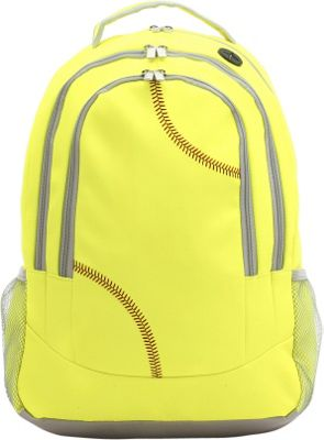 Zumer Softball Backpack Softball yellow - Zumer Everyday Backpacks