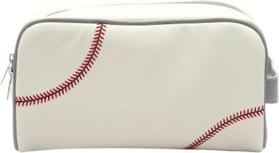 Zumer Baseball Toiletry Bag Baseball white - Zumer Toiletry Kits