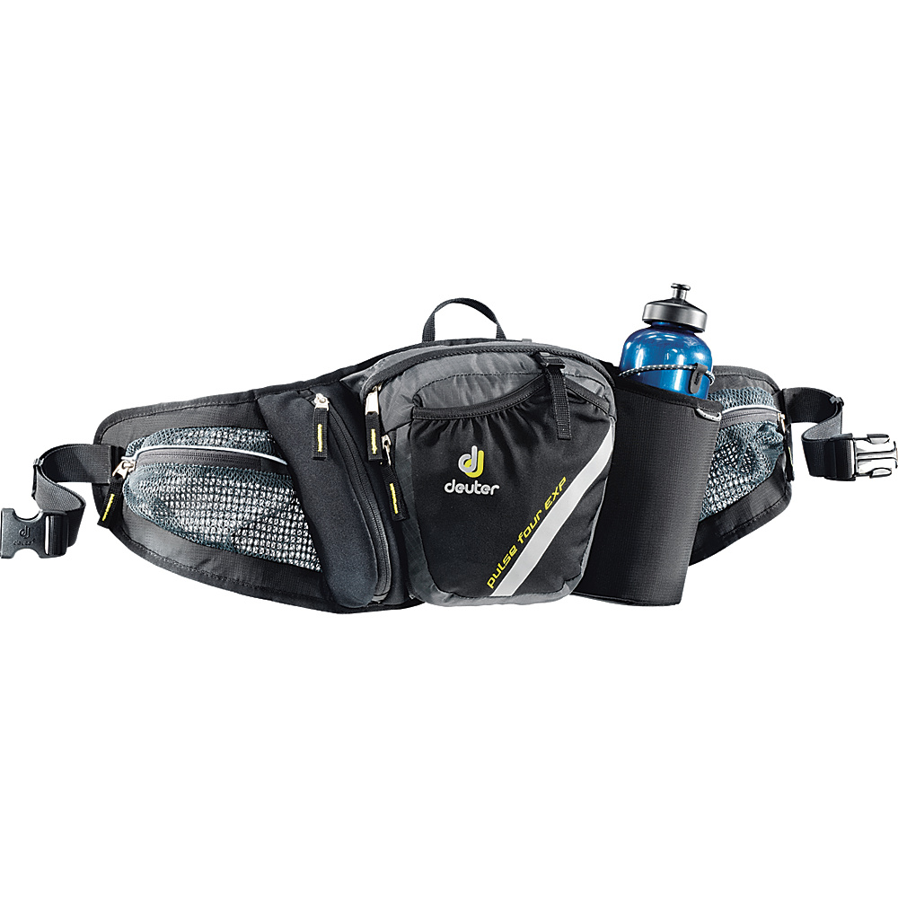 Deuter Pulse 4 EXP Waistpack Anthracite Black Deuter Day Hiking Backpacks