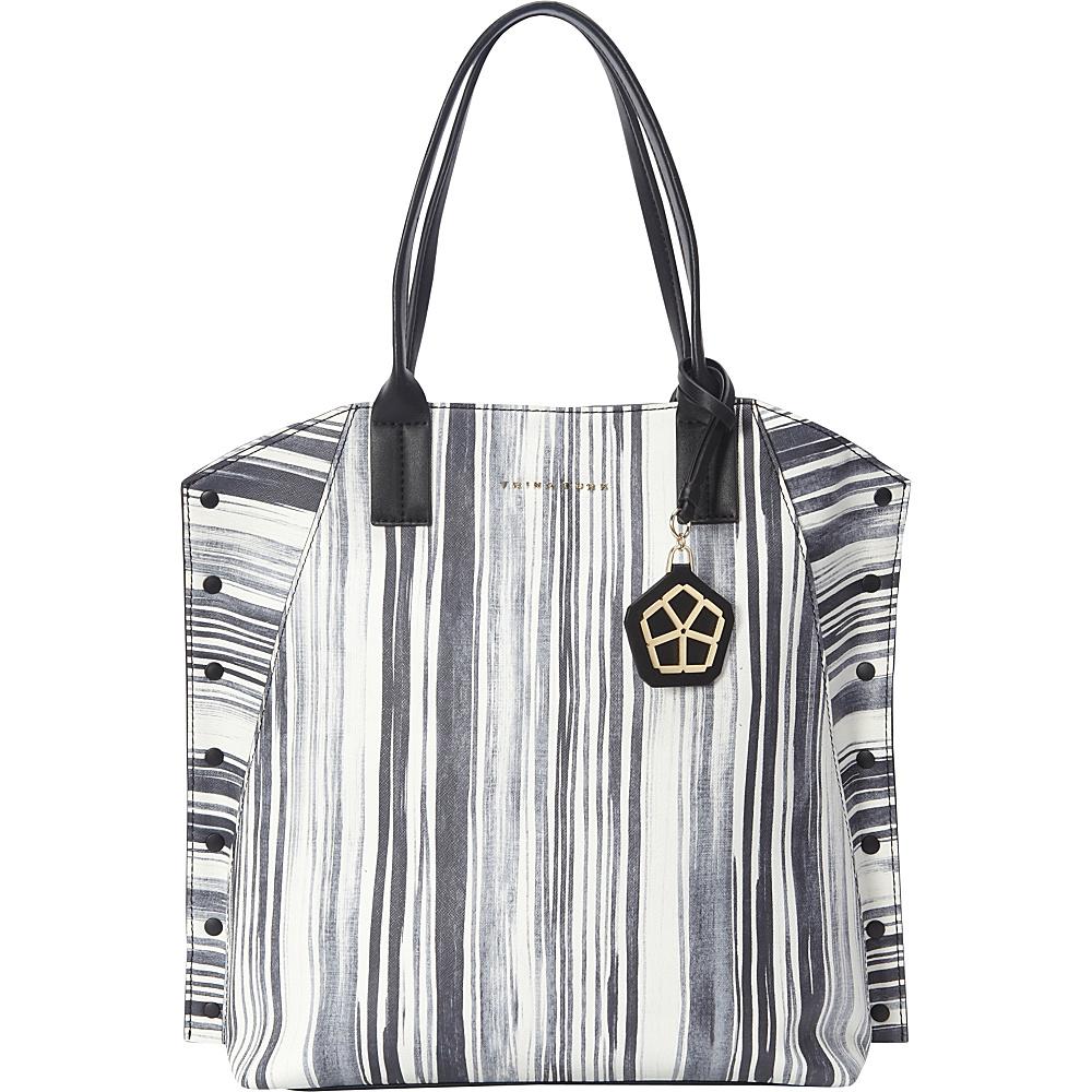Trina Turk Bungalow N S Tote Ink Designer Handbags