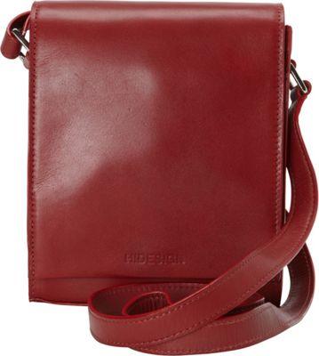 Hidesign Nico Leather Cross Body Red - Hidesign Leather Handbags