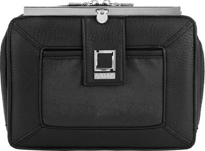 Lencca Esvivina Crossbody Shoulder Bag Black / Black - Lencca Manmade Handbags