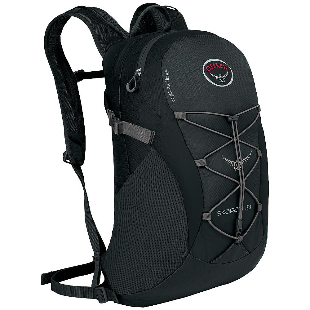 Osprey Skarab 18 Hiking Backpack Carbon Grey - Osprey Day Hiking Backpacks