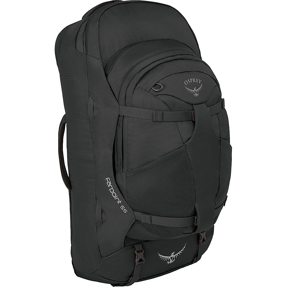 Osprey Farpoint 55 Travel Laptop Backpack Volcanic Grey - S/M - Osprey Travel Backpacks - Backpacks, Travel Backpacks