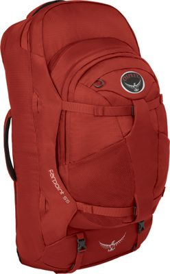 Osprey Farpoint 55 Travel Laptop Backpack Jasper Red - S/M - Osprey Travel Backpacks