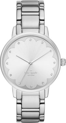 kate spade watches Gramercy Scalloped Watch Silver - kate spade watches Watches