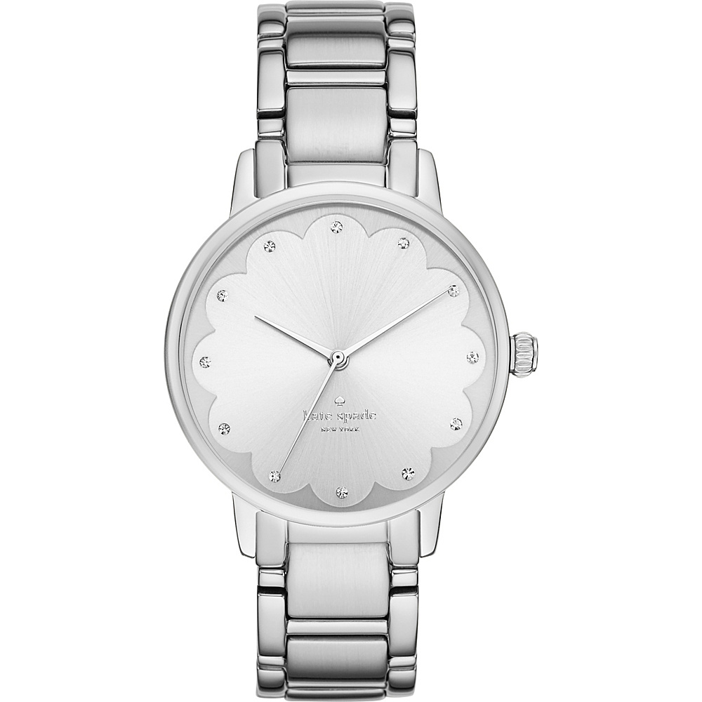 kate spade watches Gramercy Scalloped Watch Silver kate spade watches Watches