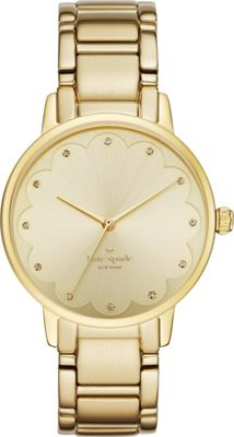 kate spade watches Gramercy Scalloped Watch Gold - kate spade watches Watches