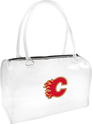 Littlearth Clear Bowler - NHL Teams Calgary Flames - Littlearth Manmade Handbags