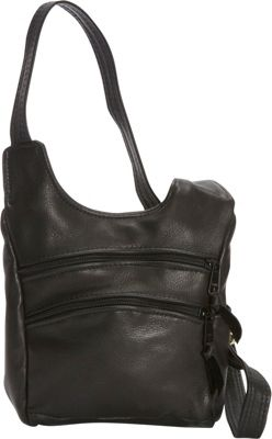 Victoria Leather Piccadilly Crossbody Black - Victoria Leather Leather Handbags