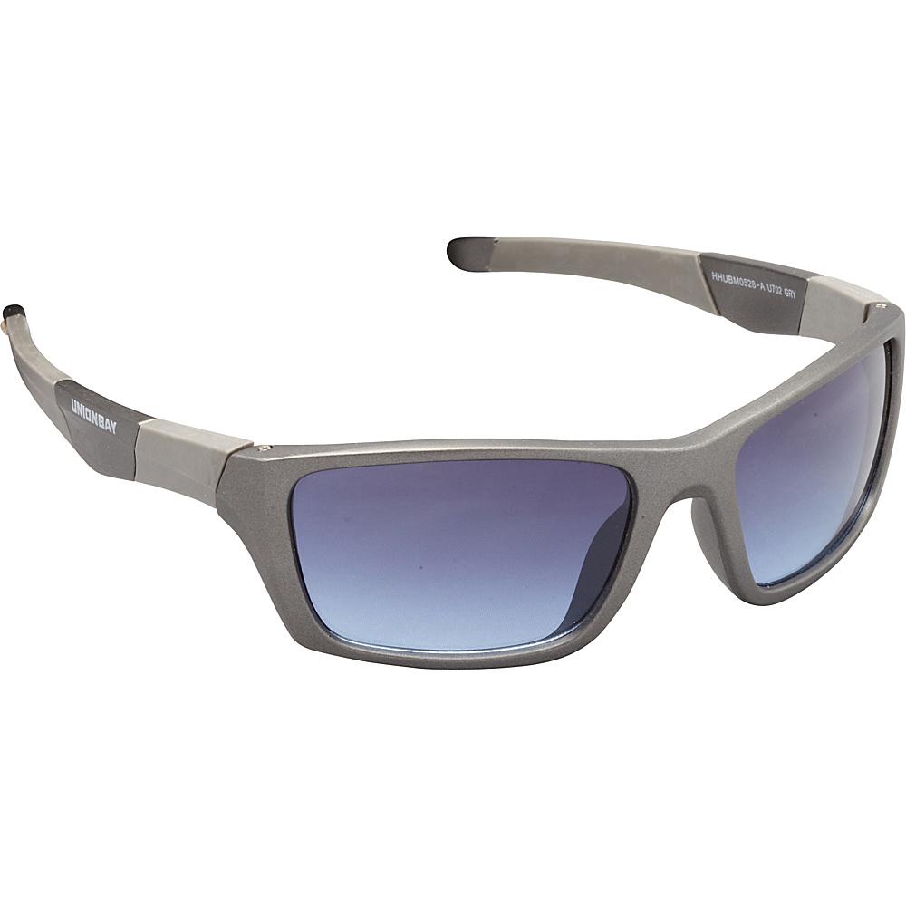 Unionbay Eyewear Sporty Rectangle Sunglasses Grey Unionbay Eyewear Sunglasses