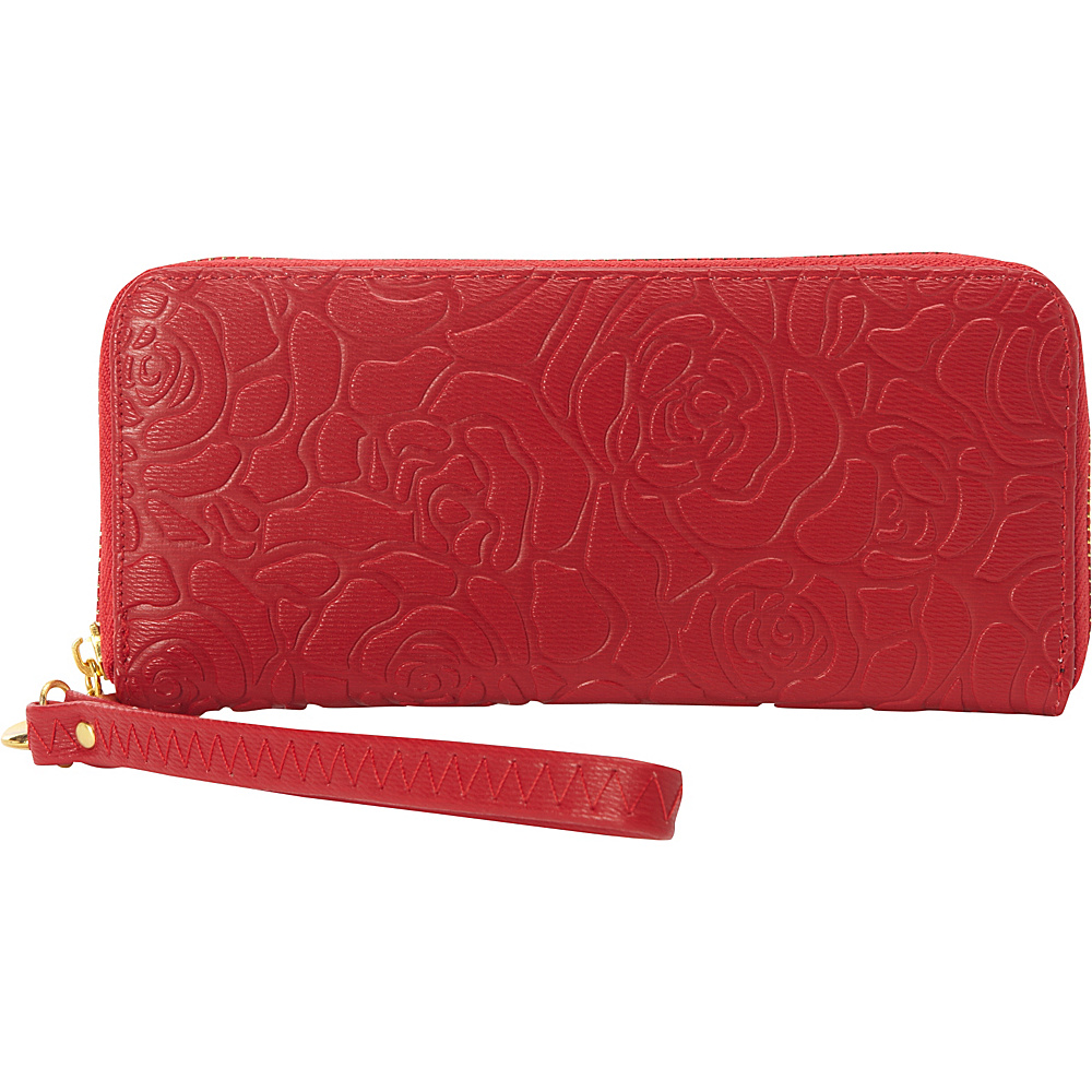 Melie Bianco Harper Wallet Red - Melie Bianco Ladies Clutch Wallets
