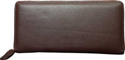 Canyon Outback Leather Marydale Canyon Zip Wallet Brown - Canyon Outback Women's Wallets