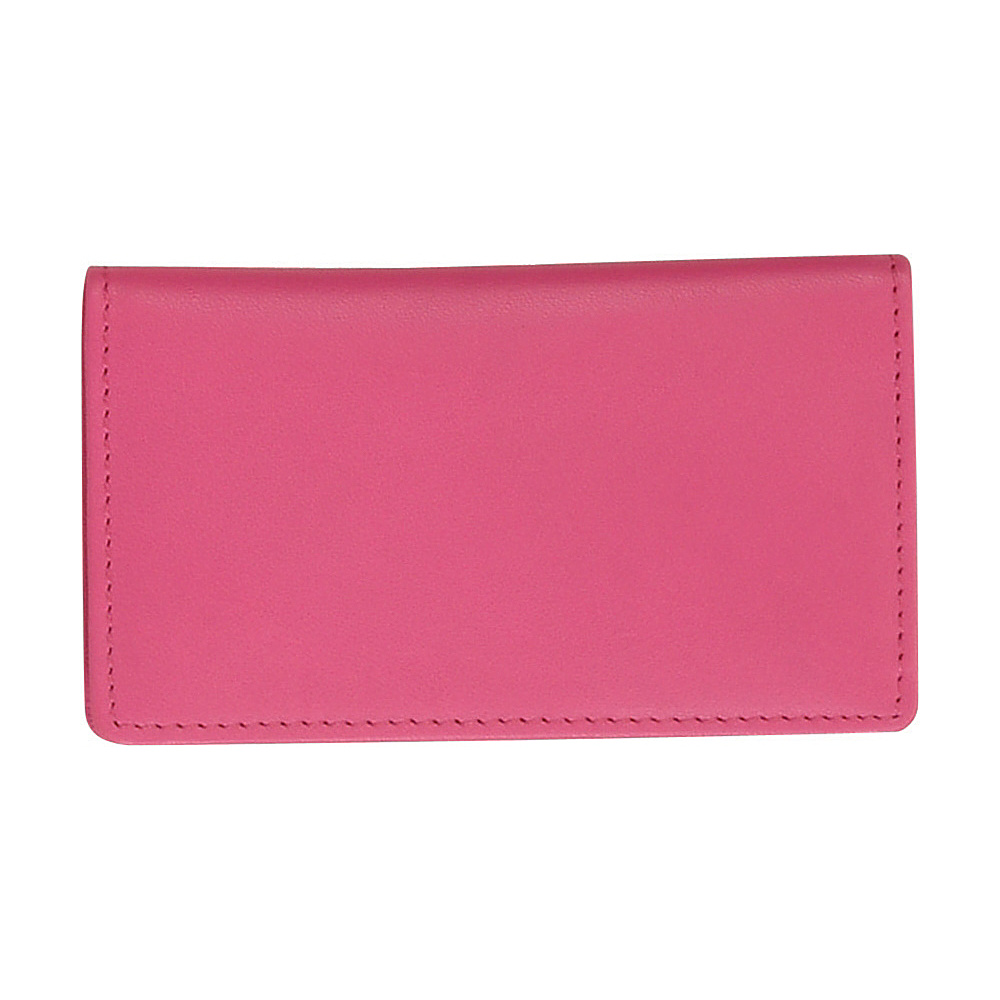 Royce Leather Business Card Case Wild Berry - Royce Leather Business Accessories - Work Bags & Briefcases, Business Accessories