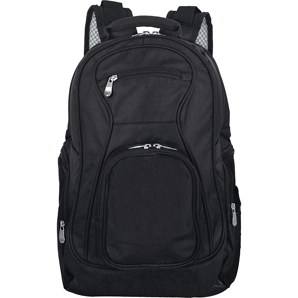 Denco Sports Luggage 19 Laptop Travel Backpack Black - Denco Sports Luggage Business & Laptop Backpacks - Backpacks, Business & Laptop Backpacks