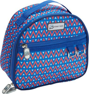 Sydney Paige Buy One/Give One Lunch Bag Blue Tents - Sydney Paige Travel Coolers