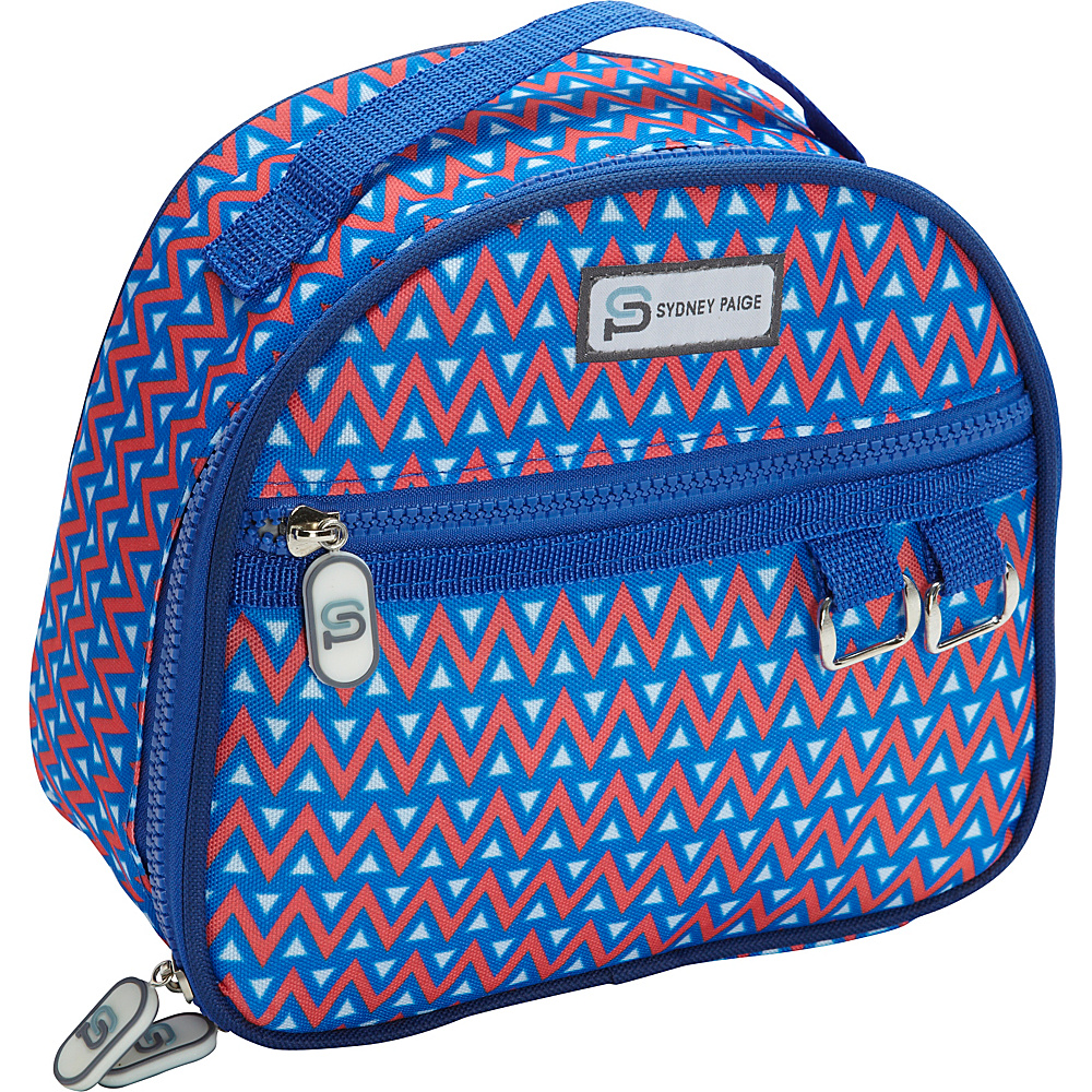 Sydney Paige Buy One Give One Lunch Bag Blue Tents Sydney Paige Travel Coolers