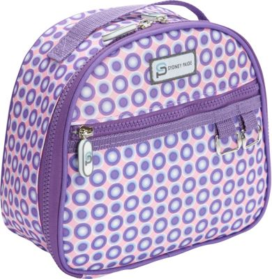 Sydney Paige Buy One/Give One Lunch Bag Purple Spotlight - Sydney Paige Travel Coolers