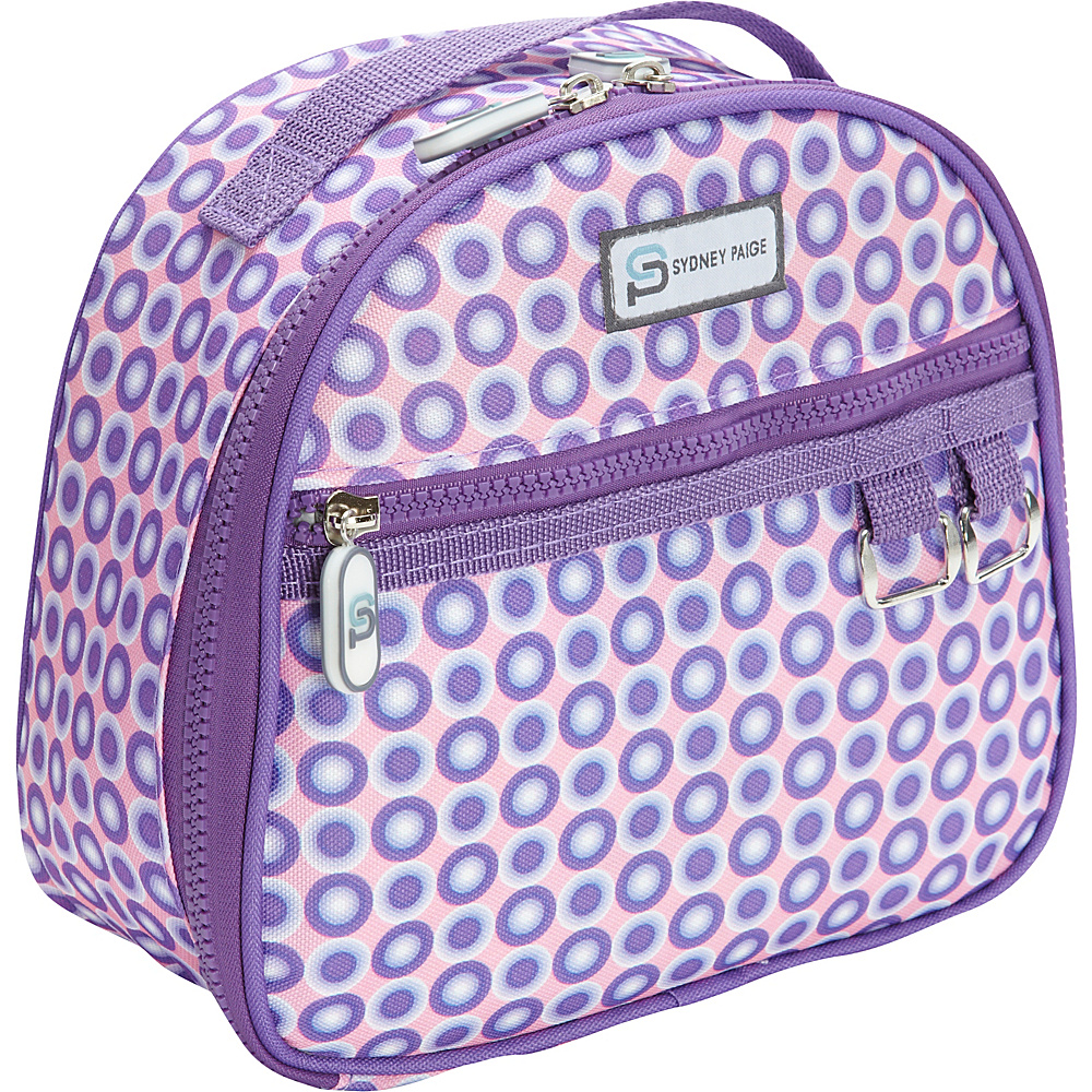 Sydney Paige Buy One Give One Lunch Bag Purple Spotlight Sydney Paige Travel Coolers