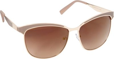 Circus by Sam Edelman Sunglasses Cat Eye Sunglasses Gold/Nude - Circus by Sam Edelman Sunglasses Sunglasses