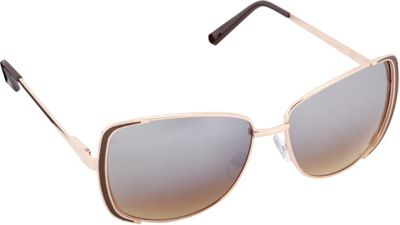Circus by Sam Edelman Sunglasses Rectangle Sunglasses Gold/Brown - Circus by Sam Edelman Sunglasses Sunglasses