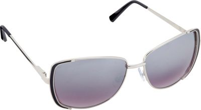 Circus by Sam Edelman Sunglasses Rectangle Sunglasses Silver/Black - Circus by Sam Edelman Sunglasses Sunglasses