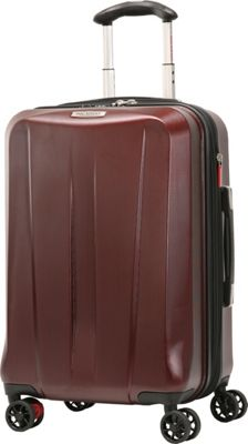 Ricardo Beverly Hills San Clemente 21 inch 4 Wheel Expandable Wheel Aboard Red Cherry - Ricardo Beverly Hills Hardside Carry-On