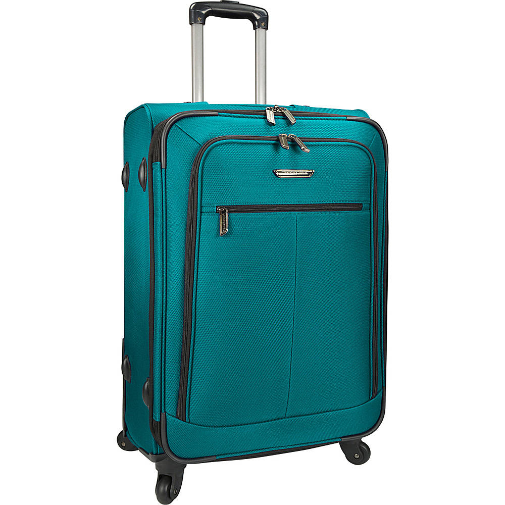 Traveler s Choice Merced Lightweight 27 Spinner Luggage Green Traveler s Choice Softside Checked
