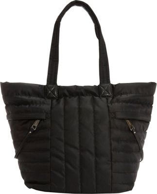 Nine West Handbags Zippered Up Tote Black - Nine West Handbags Fabric Handbags