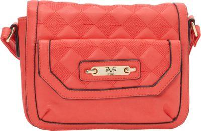 Image of 1969 V Italia Fortuna Crossbody Coral - 1969 V Italia Manmade Handbags