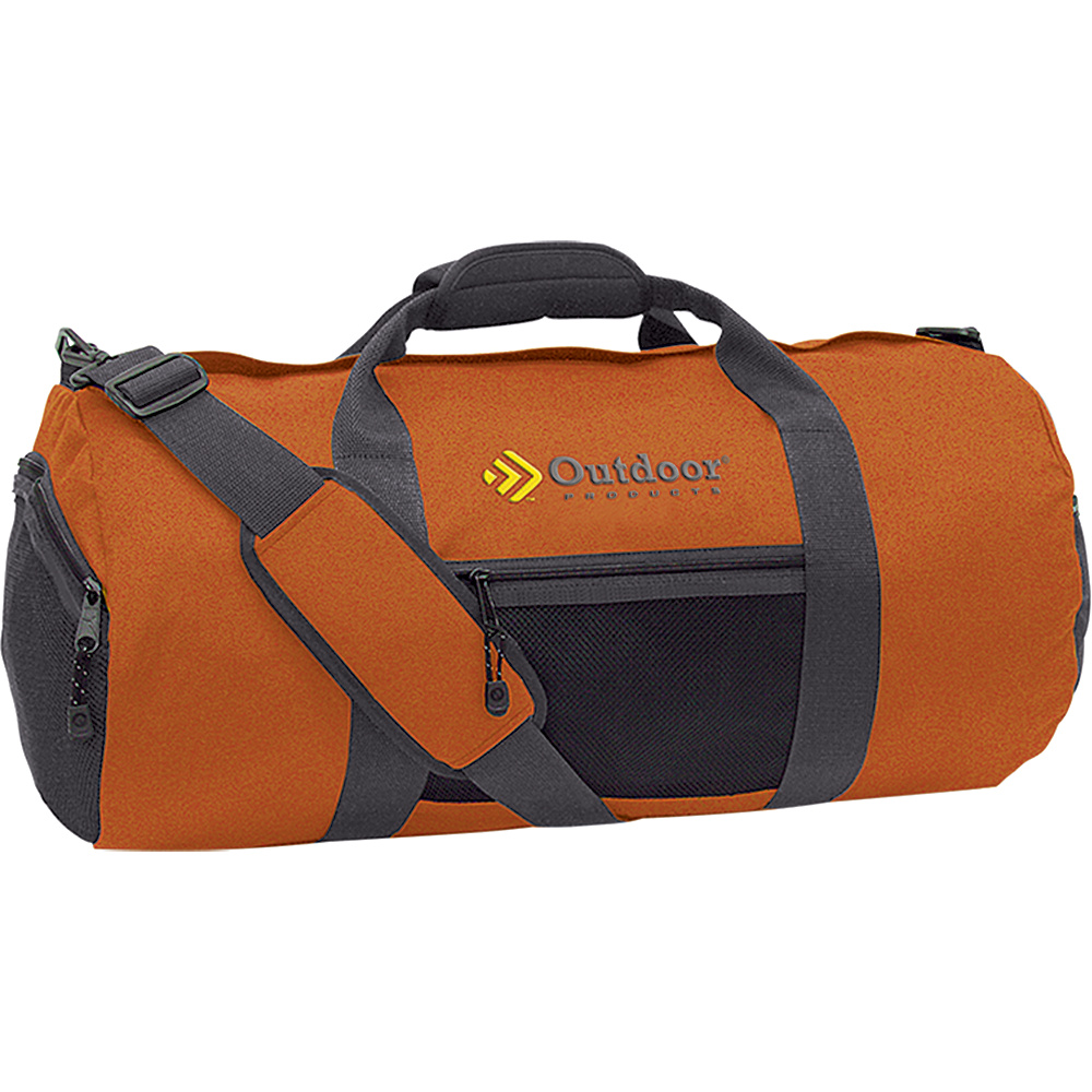 Outdoor Products Utility Duffle Medium Harvest Pumpkin Outdoor Products Outdoor Duffels