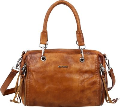 Old Trend Walnut Satchel Tan - Old Trend Leather Handbags